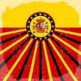 Espana - Spain spanish text - vintage card Stock Photo