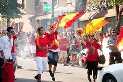 espana viva Zdjęcia Royalty Free