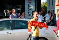 espana viva Obraz Royalty Free