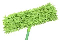 Espanador verde do microfiber Fotografia de Stock