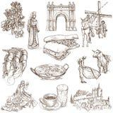 Espanha 1 ilustração royalty free