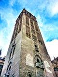 Espanha Andalucia de Sevilha da torre de Giralda do La Fotografia de Stock