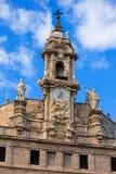 Espanha da fachada da igreja de Valencia Santos Juanes Foto de Stock