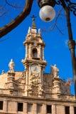 Espanha da fachada da igreja de Valencia Santos Juanes Fotografia de Stock Royalty Free