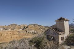 Espanha da mina de Mazzaron Fotografia de Stock