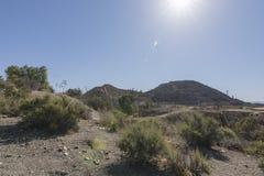 Espanha da mina de Mazzaron Fotografia de Stock Royalty Free
