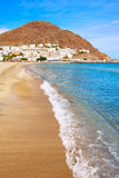 Espanha da vila da praia de Almeria Cabo Gata San Jose Fotografia de Stock