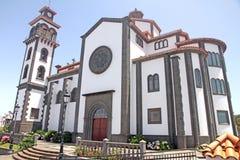 Espanha de Gran Canaria da catedral de Moya imagem de stock
