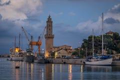 Espanha de Illes Balears do farol do pi de Porto imagens de stock royalty free