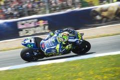 Espanha de MotoGP, em Jerez Imagem de Stock Royalty Free