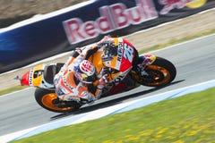 Espanha de MotoGP, em Jerez Foto de Stock