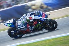 Espanha de MotoGP, em Jerez Foto de Stock Royalty Free