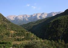 Espanha de Pirenees Catalonia Foto de Stock Royalty Free