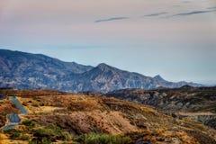 Espanha do deserto de Tabernas fotografia de stock