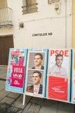 Espanha 2015 eleições Fotografia de Stock