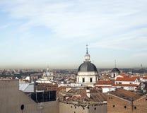 Espanha Europa do Madri dos telhados Foto de Stock