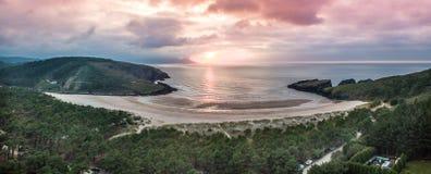 Espanha Galiza de Surfbeach imagens de stock royalty free