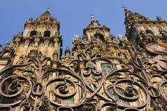 Espanha, Galiza, Santiago de Compostela, catedral Imagem de Stock