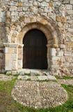 Espanha românico da igreja fotografia de stock