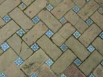 Espanhol Mozaic Paviment imagem de stock