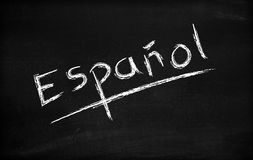 Espanol Royalty Free Stock Photos