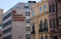 Espanol popolare banco fotografie stock libere da diritti