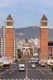 ` Espanya de Plaça d Fotografía de archivo