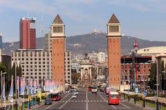 ` Espanya de Plaça d Fotografía de archivo libre de regalías