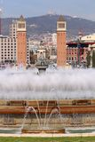` Espanya de Plaça d Imagen de archivo libre de regalías