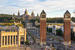 ` Espanya de Placa d à Barcelone Photographie stock libre de droits