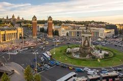 ` Espanya de Placa d à Barcelone Photo stock