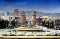 Espanya fyrkant Royaltyfri Bild
