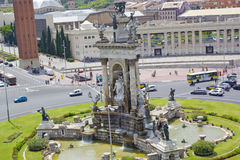 Espanya Square in Barcelona Royalty Free Stock Photography