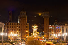 Espanya Square in Barcelona Royalty Free Stock Images