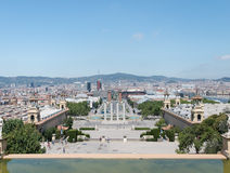 Espanya Square view stock photos