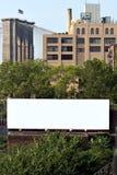 Espaço do anúncio do quadro de avisos da cidade Foto de Stock