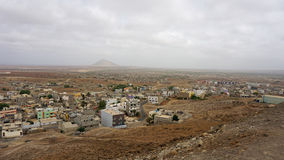 Espargos city Royalty Free Stock Image