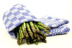 Espargos cozinhados Foto de Stock Royalty Free