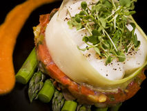 Espargos e vegetal creativos A Imagens de Stock Royalty Free