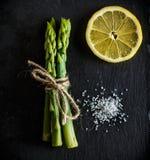 Espargos Legume verde e fresco Fotos de Stock Royalty Free