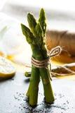Espargos Legume verde e fresco Imagem de Stock