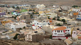 Espargos-Stadt Lizenzfreies Stockfoto