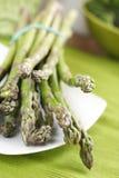 Espargos verdes fotografia de stock