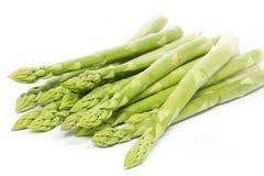 Espargos verdes frescos imagens de stock