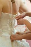 Espartilho do casamento Fotos de Stock