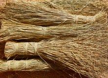 Esparto halfah grass used for crafts basketry Stock Photos