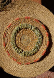 Esparto halfah grass used for crafts basketry Stock Image