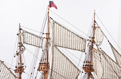 Espato do navio Foto de Stock