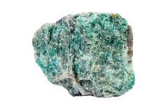 Especímenes cristalinos minerales de Amazonite imágenes de archivo libres de regalías