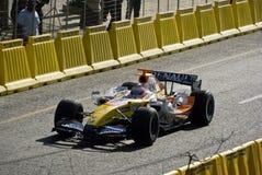 Espec. 2007 del coche de Renault F1 foto de archivo